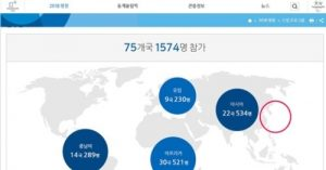平昌五輪HPの世界地図に日本が復活