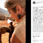 ローラ 日本に象牙市場の閉鎖を要求「みんなでシェアをしてゾウを守ろう」