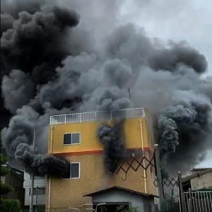 京アニ火災「小説を盗んだから放火した」確保の男、強い殺意