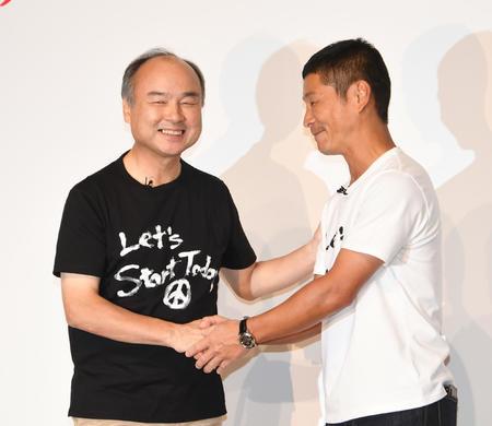 孫正義氏が暴露、前澤氏は剛力との人生重視して辞任