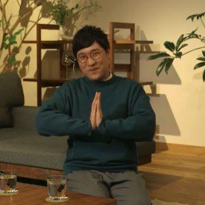 山里のYouTube番組『山チャンネル』Vol.33のタイトルは「花が鼻につく」だった